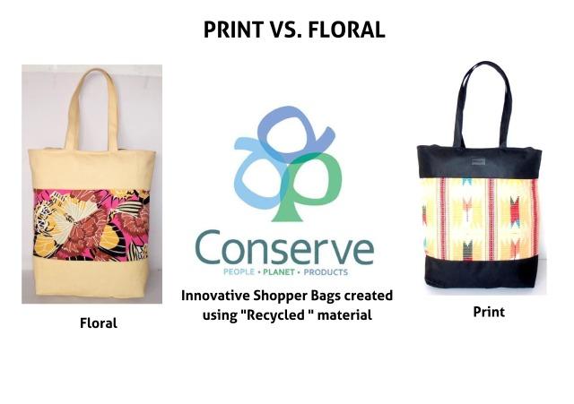 Print vs Florals